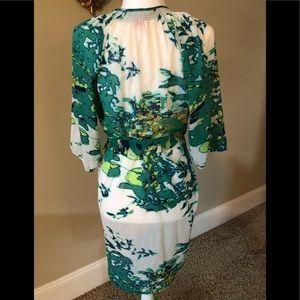 Collective concepts size M wrap dress